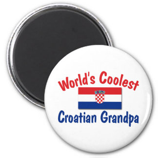 Coolest Croatian Grandpa Magnet