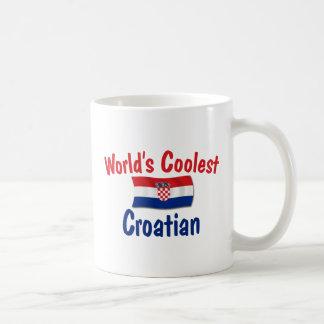 Coolest Croatian Basic White Mug
