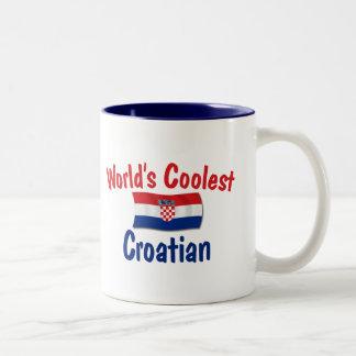 Coolest Croatian Two-Tone Mug