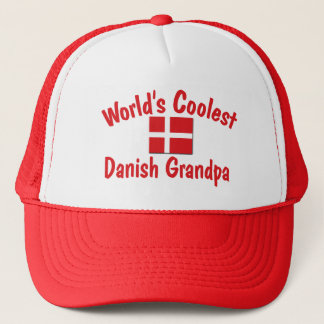 Coolest Danish Grandpa Trucker Hat