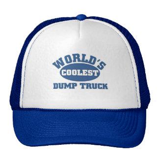 Coolest Dump Truck Mesh Hats