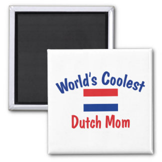 Coolest Dutch Mom Fridge Magnets