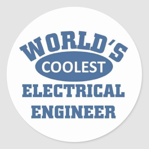 Coolest Electrical Engineer Stickers