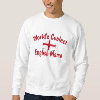 Coolest English Mama Pullover Sweatshirts