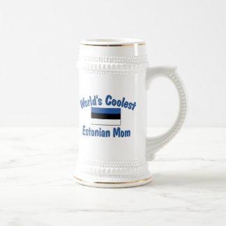 Coolest Estonian Mom Beer Steins
