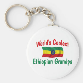 Coolest Ethiopian Grandpa Keychains