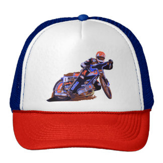 Coolest Flat Track Speedway Motorcycle Cap