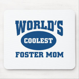 Coolest foster mom mouse pad