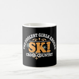 Coolest Girls XC Ski Coffee Mug