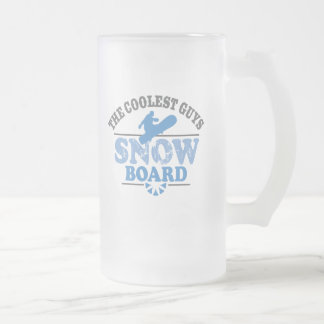 Coolest Guys Snowboard Coffee Mugs