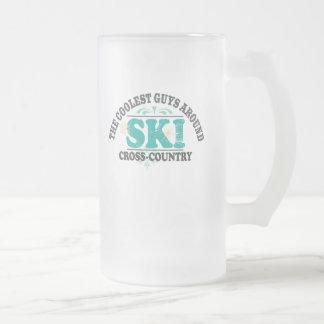 Coolest Guys XC Ski Mugs