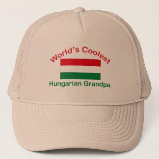 Coolest Hungarian Grandpa Trucker Hat