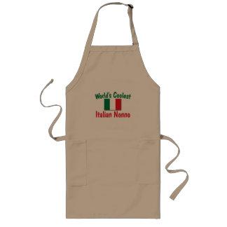 Coolest Italian Nonno Long Apron