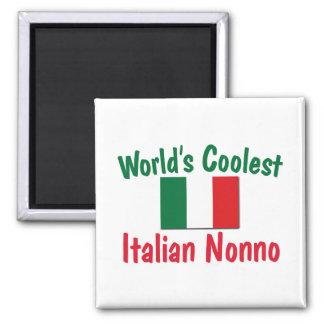 Coolest Italian Nonno Refrigerator Magnets