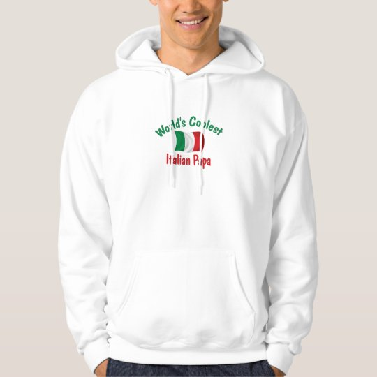 Coolest Italian Papa Hoodie