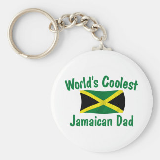 Coolest Jamaican Dad Key Ring