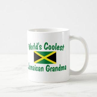 Coolest Jamaican Grandma Basic White Mug