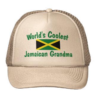 Coolest Jamaican Grandma Trucker Hat