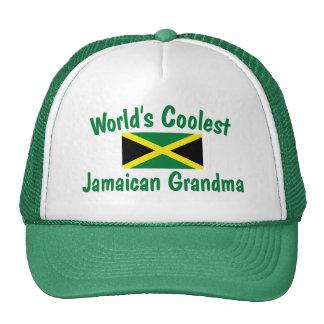 Coolest Jamaican Grandma Mesh Hat