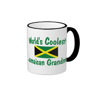 Coolest Jamaican Grandma Ringer Mug