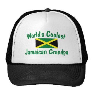 Coolest Jamaican Grandpa Trucker Hats