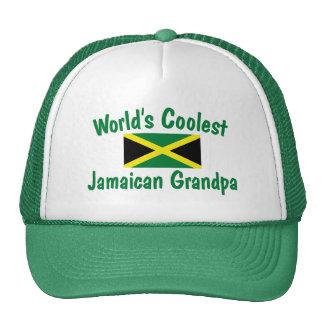 Coolest Jamaican Grandpa Mesh Hats