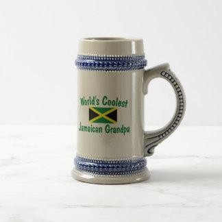 Coolest Jamaican Grandpa Beer Steins