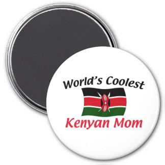Coolest Kenyan Mom 7.5 Cm Round Magnet
