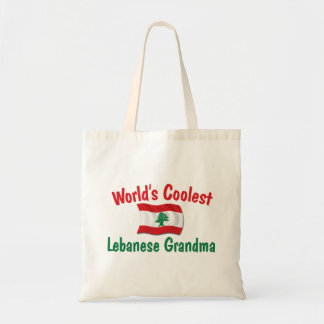 Coolest Lebanese Grandma Budget Tote Bag