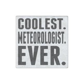 Coolest. Meteorologist. Ever. Stone Magnet