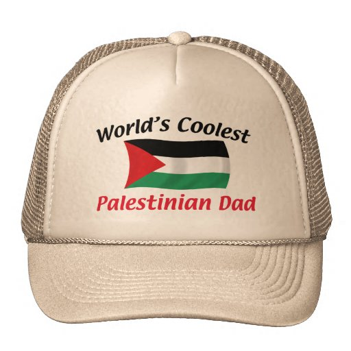 Coolest Palestinian Dad Mesh Hats