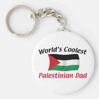 Coolest Palestinian Dad Key Ring