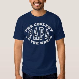 Coolest Papa T-shirts