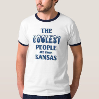 Coolest people are from Kansas T-shirts