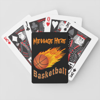 Coolest Personalized Basketball Playing Cards