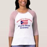 Coolest Puerto Rican Grandma Tshirt
