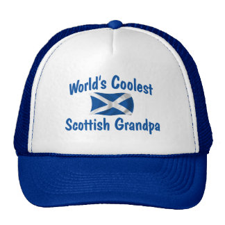 Coolest Scottish Grandpa Cap