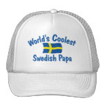 Coolest Swedish Papa Trucker Hat