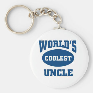 Coolest Uncle Key Ring