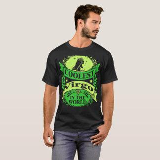 Coolest Virgo In The World Zodiac Tshirt