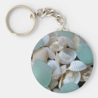 Cooling Glass Key Ring