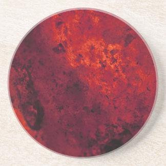 Cooling Red Hot Lava Beverage Coaster