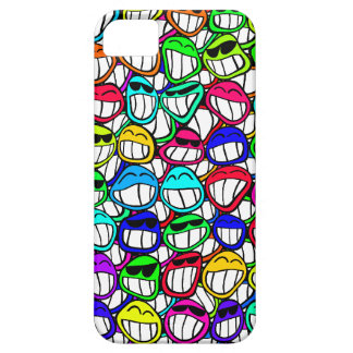 Coolly Smiling Faces iPhone 5 Cover