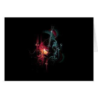 coolmusic3 greeting card
