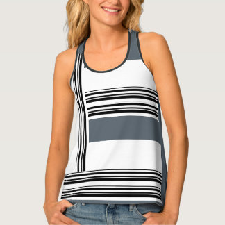 #coolsportyStripes Tank Top