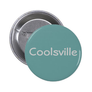 """Coolsville"" Button"