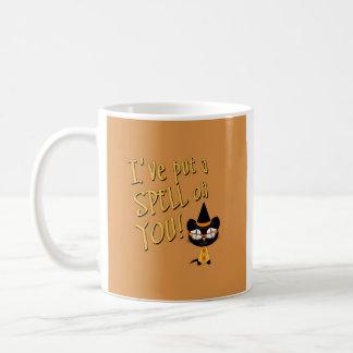 Coolsville Halloween Kitty Coffee Mugs
