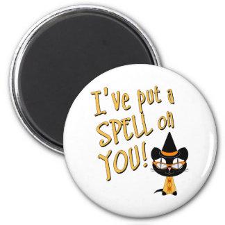 Coolsville Halloween Kitty Fridge Magnets