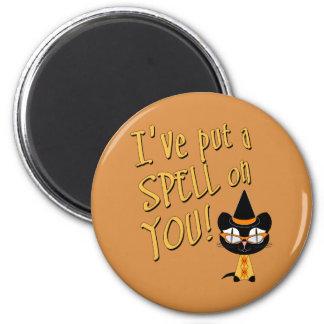 Coolsville Halloween Kitty Magnets