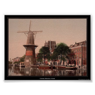 Coolvest, Rotterdam, Holland Poster